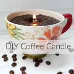 DIY Coffee Candle