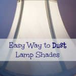 This is the easiest cleaning tip ever. How to dust lamp shades!