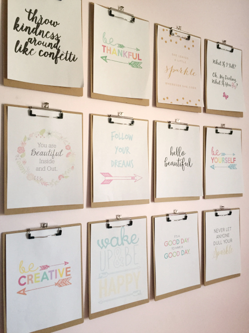 Inspiration Gallery Wall