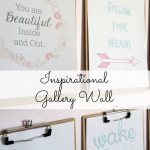 Inspirational Gallery Wall