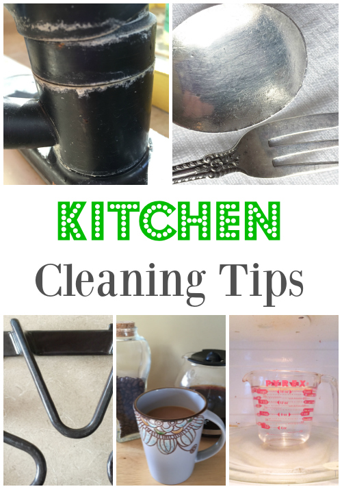Awesome tips for naturally cleaning your kitchen!