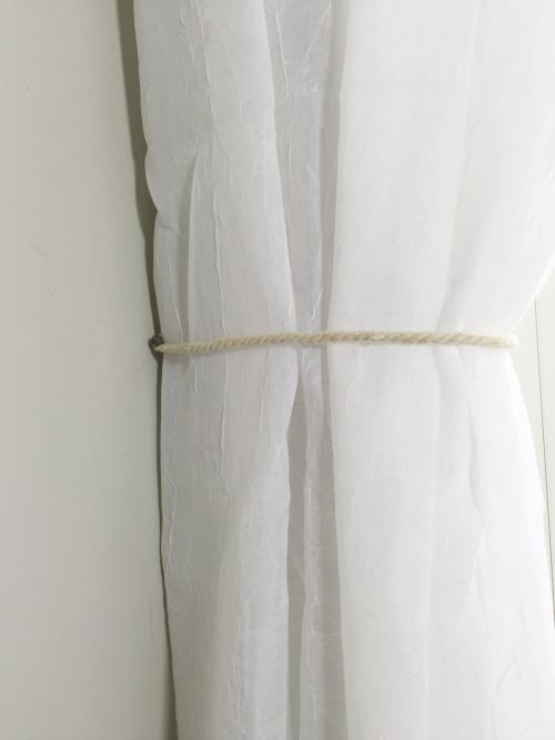 Master Bedroom Reveal Hemp Curtain Holdback