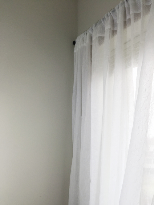 Master Bedroom Reveal Curtains