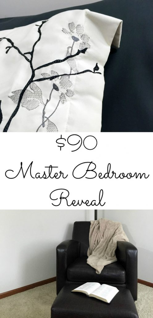A Complete Master Bedroom Transformation for $90