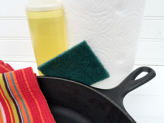 Cleaning Cast Iron Pans