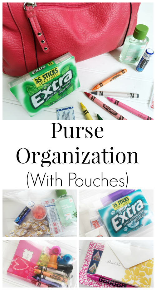 Purse Organization with Pouches