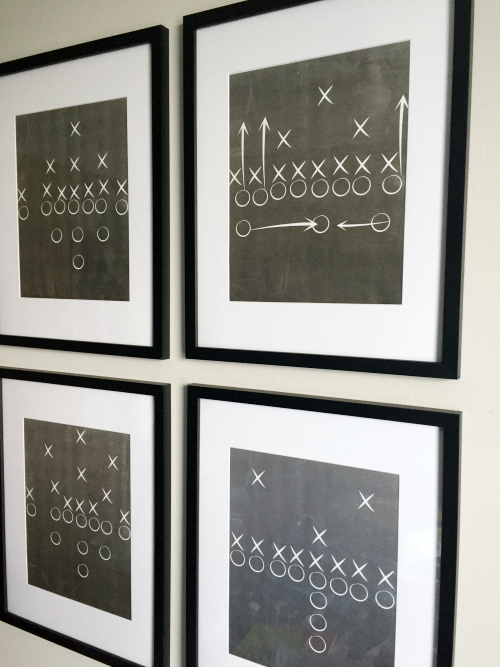 Football Play Art