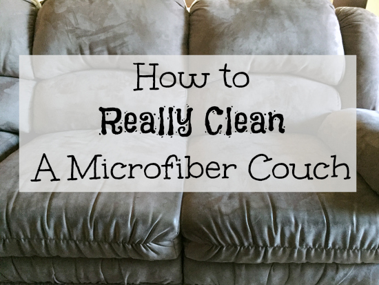Cleaning Microfiber Couch U2026