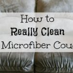 Cleaning Tip Tuesday: Cleaning A Microfiber Couch