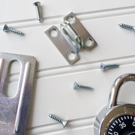 DIY Locker Closet