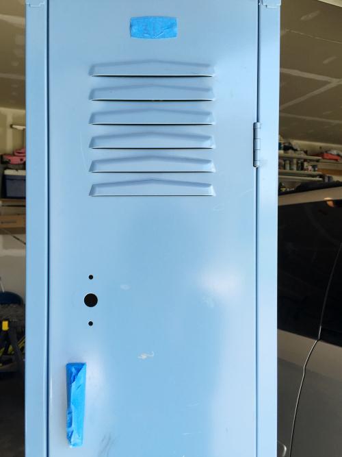DIY Locker Dresser