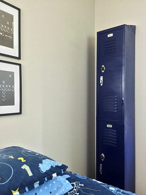 DIY Locker Dresser