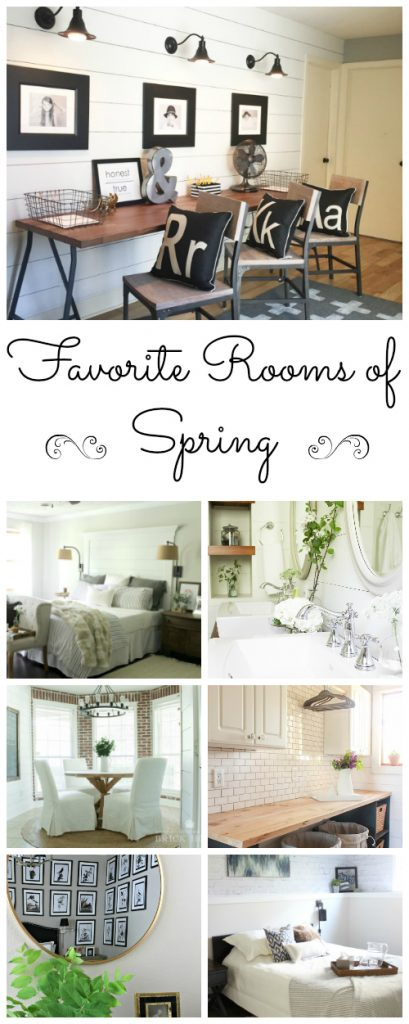 The One Room Challenged offered up some many amazing room reveals. Here are some favorites. Stunning!