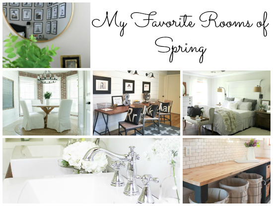 Favorite Rooms of Spring Title