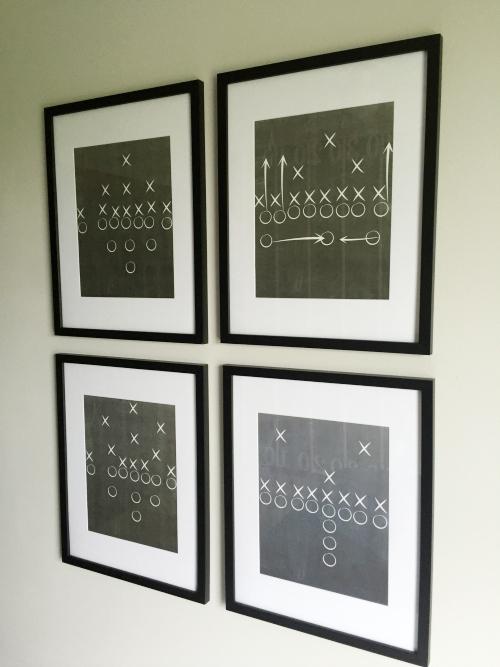 Football Bedroom Reveal