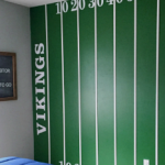 Boy's Football Bedroom Makeover