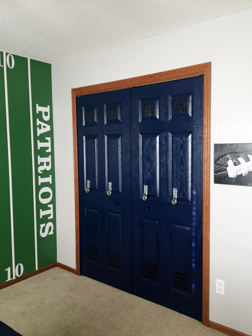 Football Room Reveal