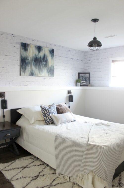 Guest Bedroom via Love Create Celebrate