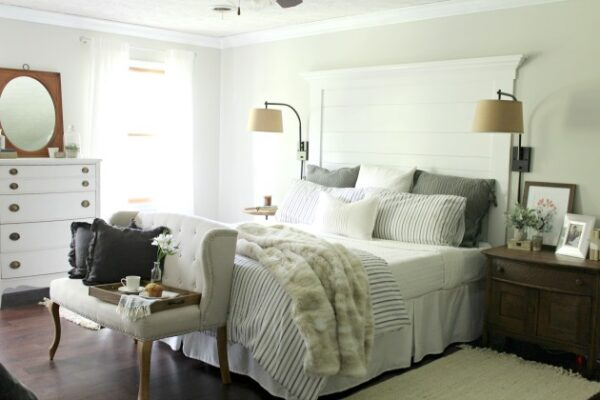 Master Bedroom via The Tale of an Ugly House