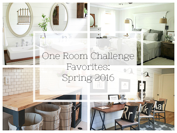 My favorite One Room Challenge Reveals from Spring 2016