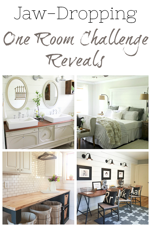 Jaw Dropping One Room Challenge Reveals