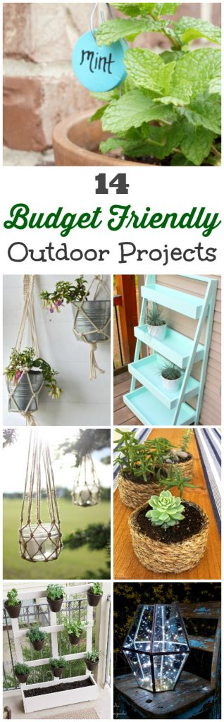 Awesome budget-friendly ideas for sprucing up outdoor spaces.