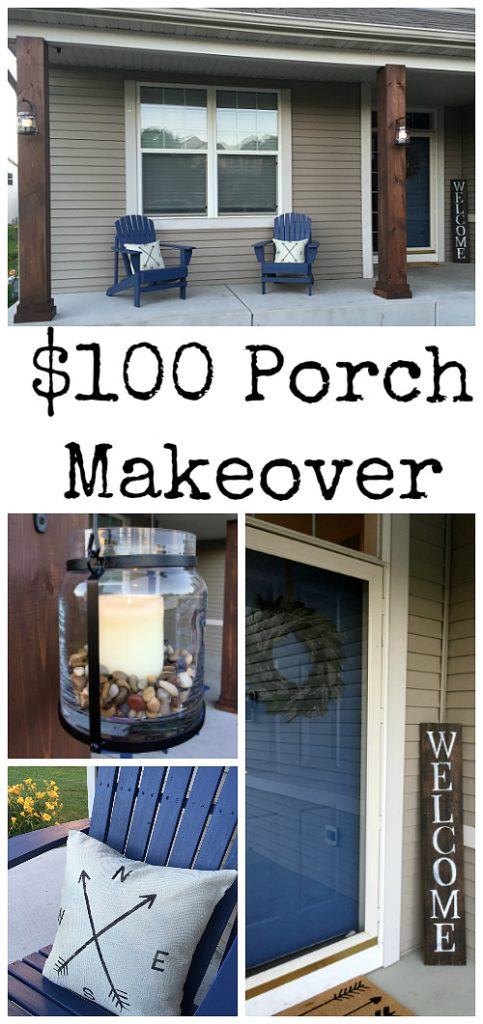 Amazing budget friendly ways to improve the look of your porch.