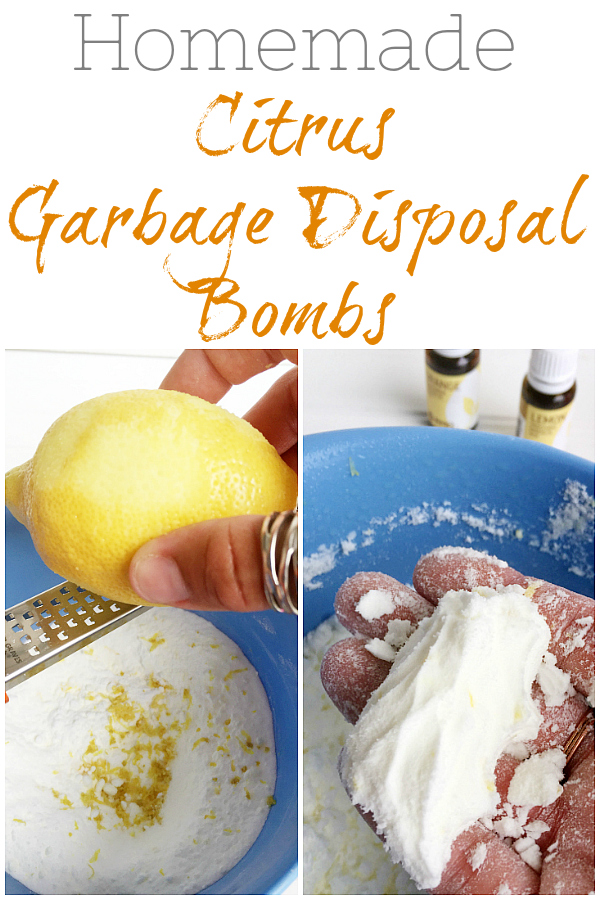 Freshen your garbage disposal with these (easy to make) garbage disposal bombs!