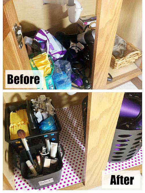 Budget Friendly Ideas for Organizing Under the Bathroom Sink