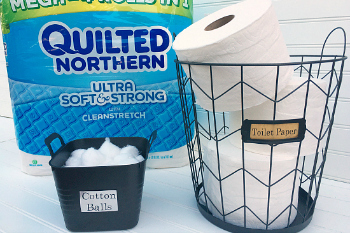 Affordable Ways to Organize Under the Bathroom Sink