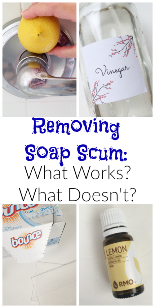 Soap Scum is the WORST. Finally, something that works!