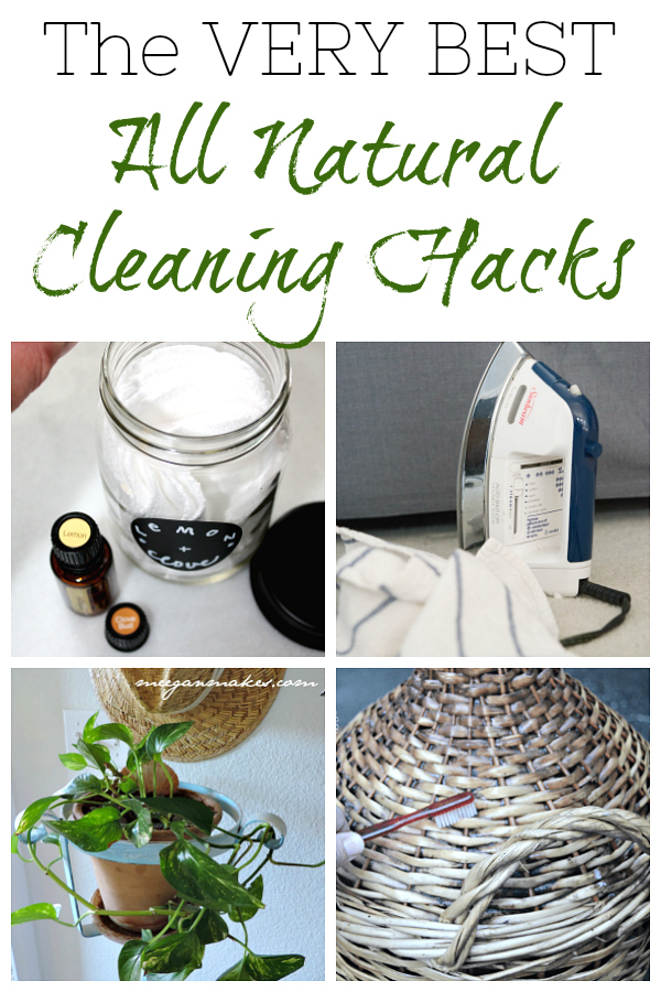 A round-up of amazing natural cleaning tips you can use throughout your home.