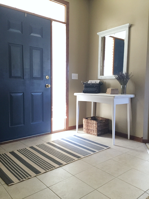 Budget Friendly Entry Makeover
