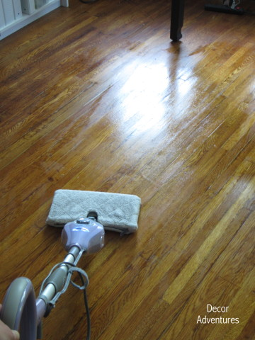 Naturally Clean Hard Wood Floors