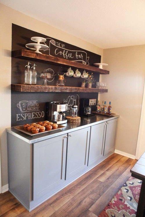 Coffee Station Inspiration via Magnolia