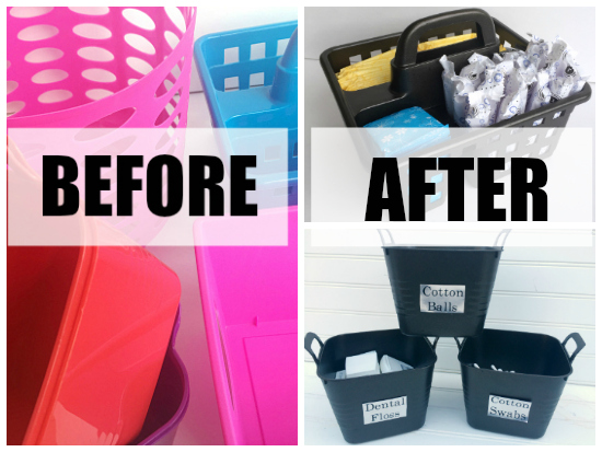 Spray Painting Plastic Bins Answering Your 1 Question
