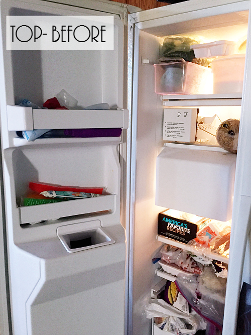 Great ideas for organizing the freezer. Love the labels and free printable!