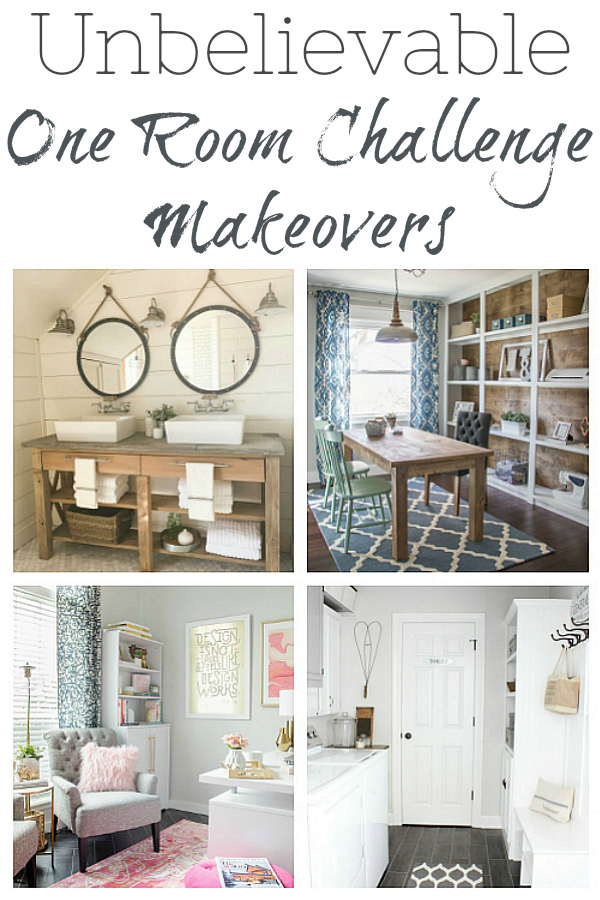 Incredible One Room Challenge Makeovers!