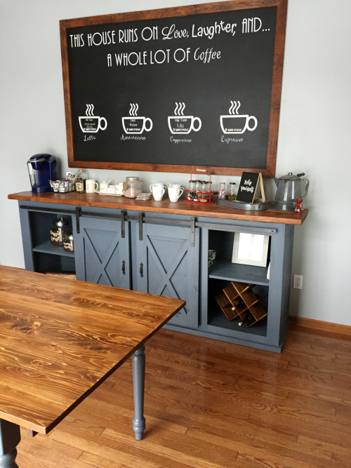 Diy Dining Room Table Using What You Already Have A Great Idea