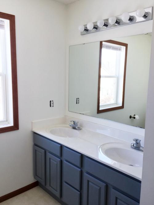 Painted Master Bathroom 3