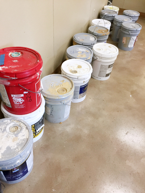 Free Paint at the Recycle Center