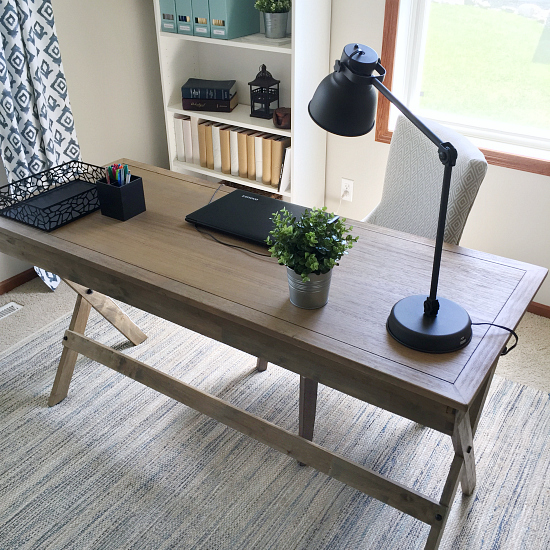 This Farmhouse Office Makeover Is Incredible