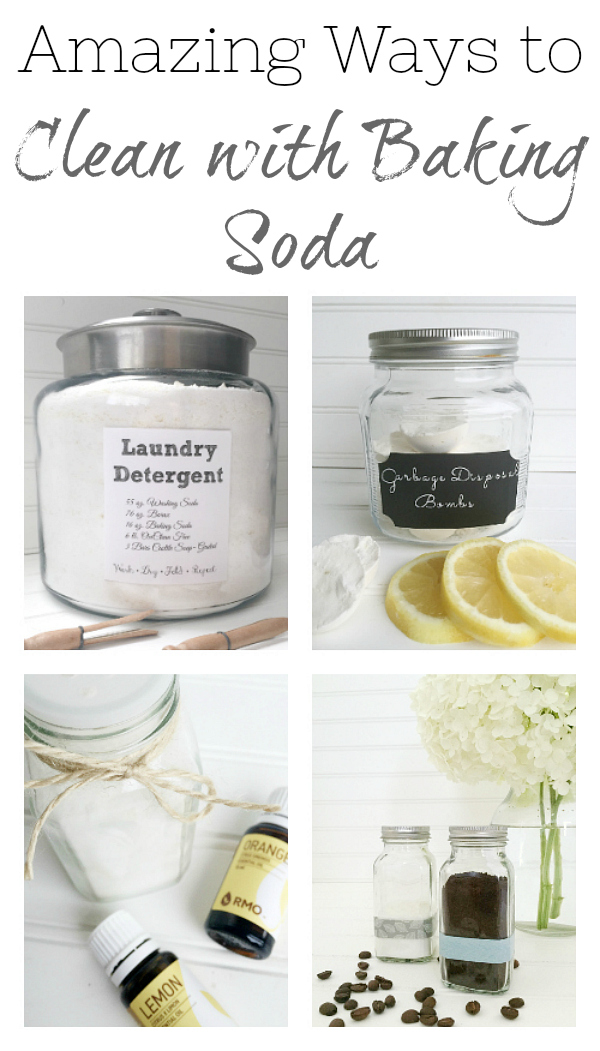 Amazing Ways to use baking soda for cleaning. Everything from cleaning porcelain sinks, to oven doors, to glass stove tops!
