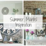 $100 Room Makeover: Fireplace Mantel Inspiration