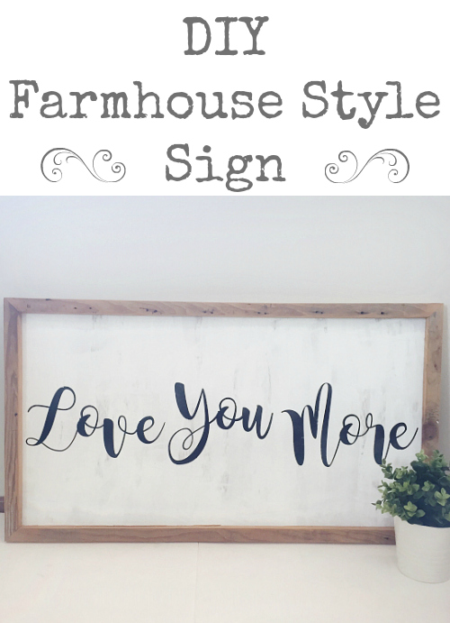 Diy Farmhouse Sign Lemons Lavender Amp Laundry
