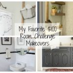 Stunning $100 Room Challenge Makeovers