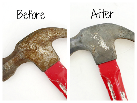 This is the easiest rust remover ever! So glad I found this!