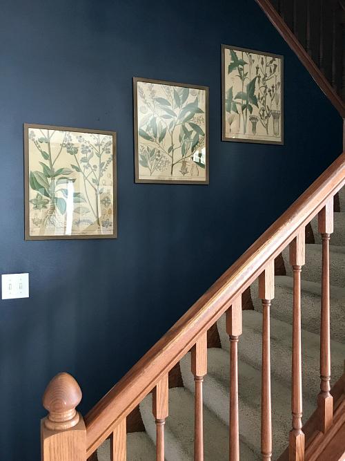 Love this idea for cheap wall decor!