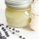 Homemade Lavender Sugar Scrub
