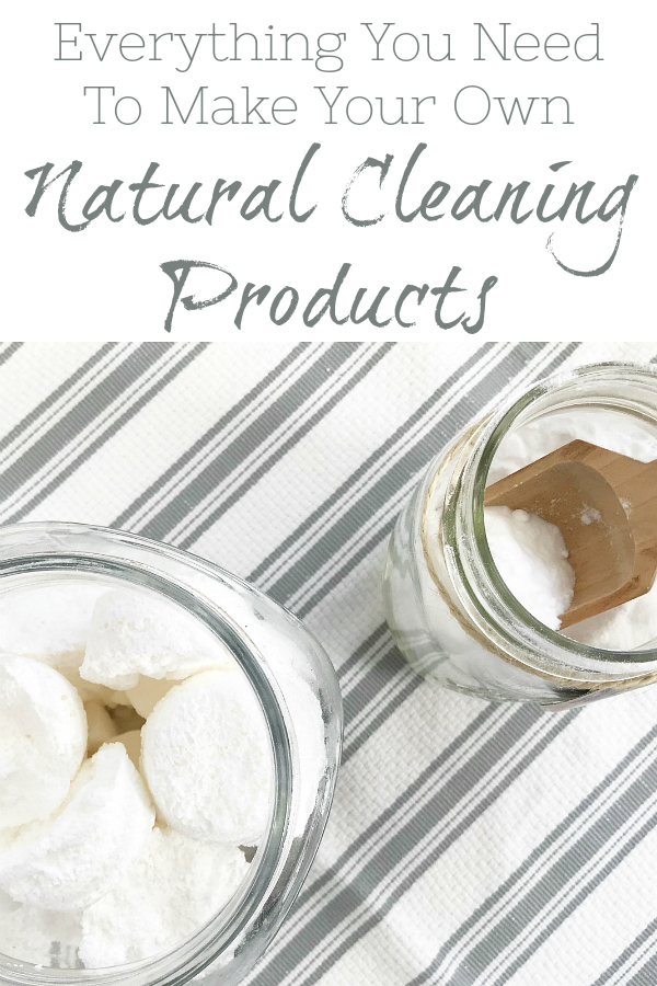 Making your own cleaning products is so easy to do, and the best part is, you know everything that goes into the bottle or jar. Here is everything you need for a naturally clean home.